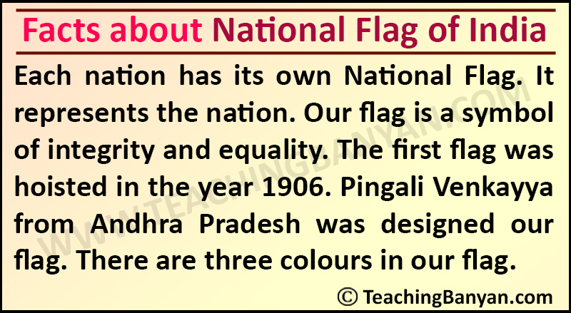Facts about National Flag of India