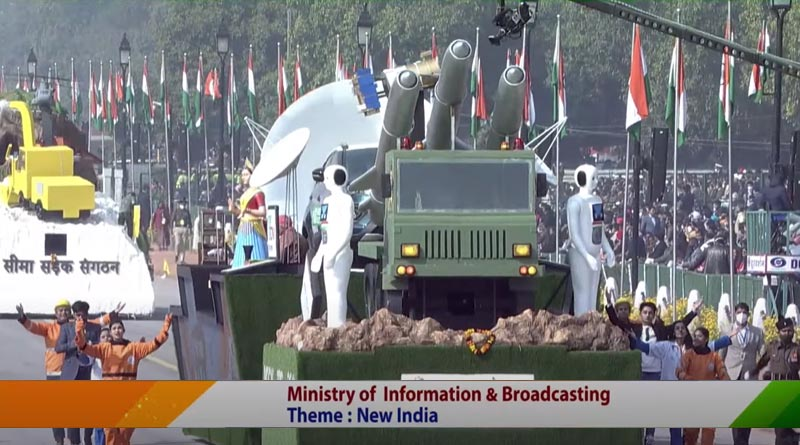 Ministry Of Information And Broadcasting Tableau